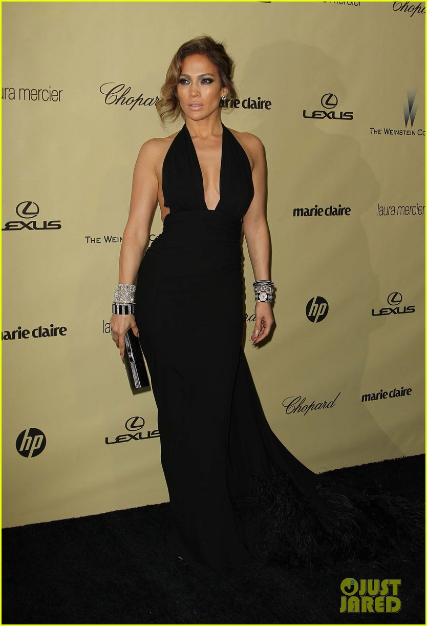 jennifer lopez casper smart golden globes parties 2013 182791602