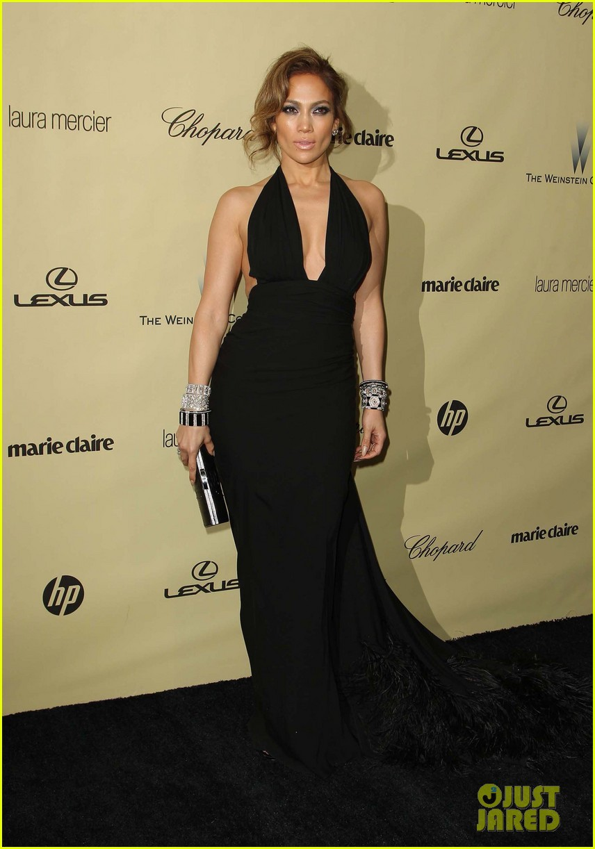 jennifer lopez casper smart golden globes parties 2013 19