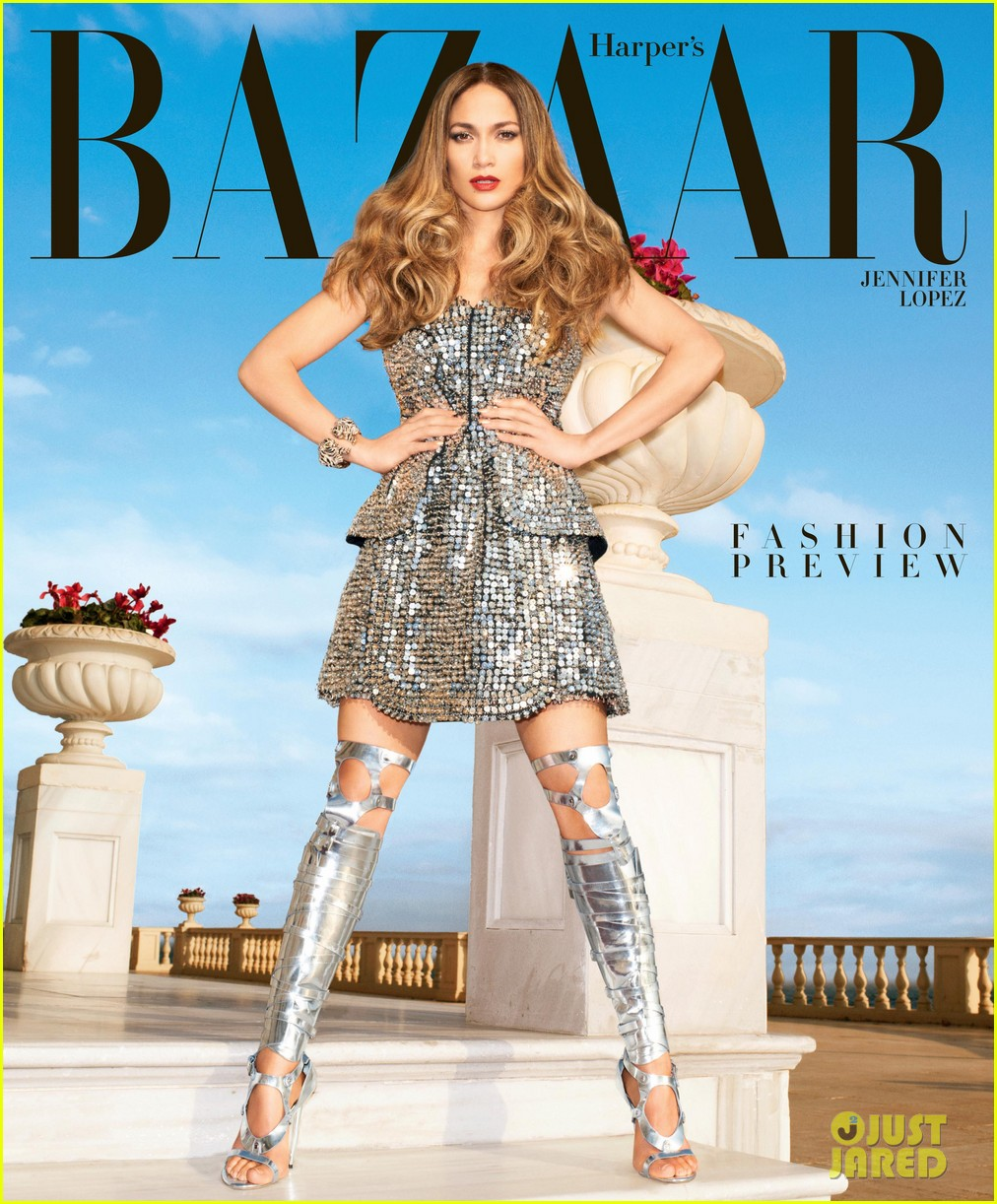 jennifer lopez covers harpers bazaar february 2013 01