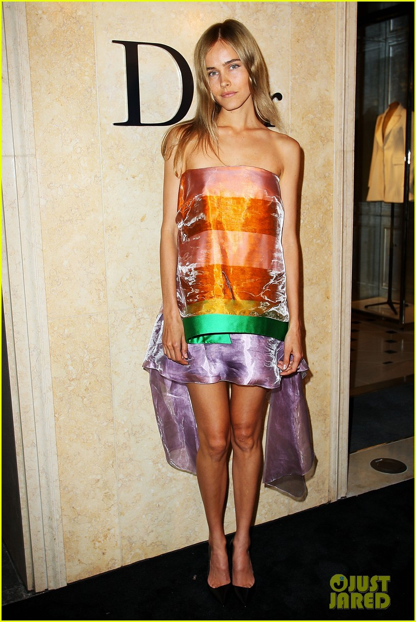 isabel lucas christian dior sydney store opening 02