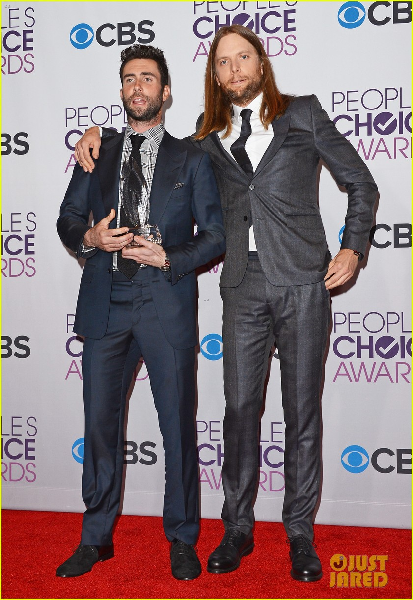 adam levine peoples choice 2013 052787893