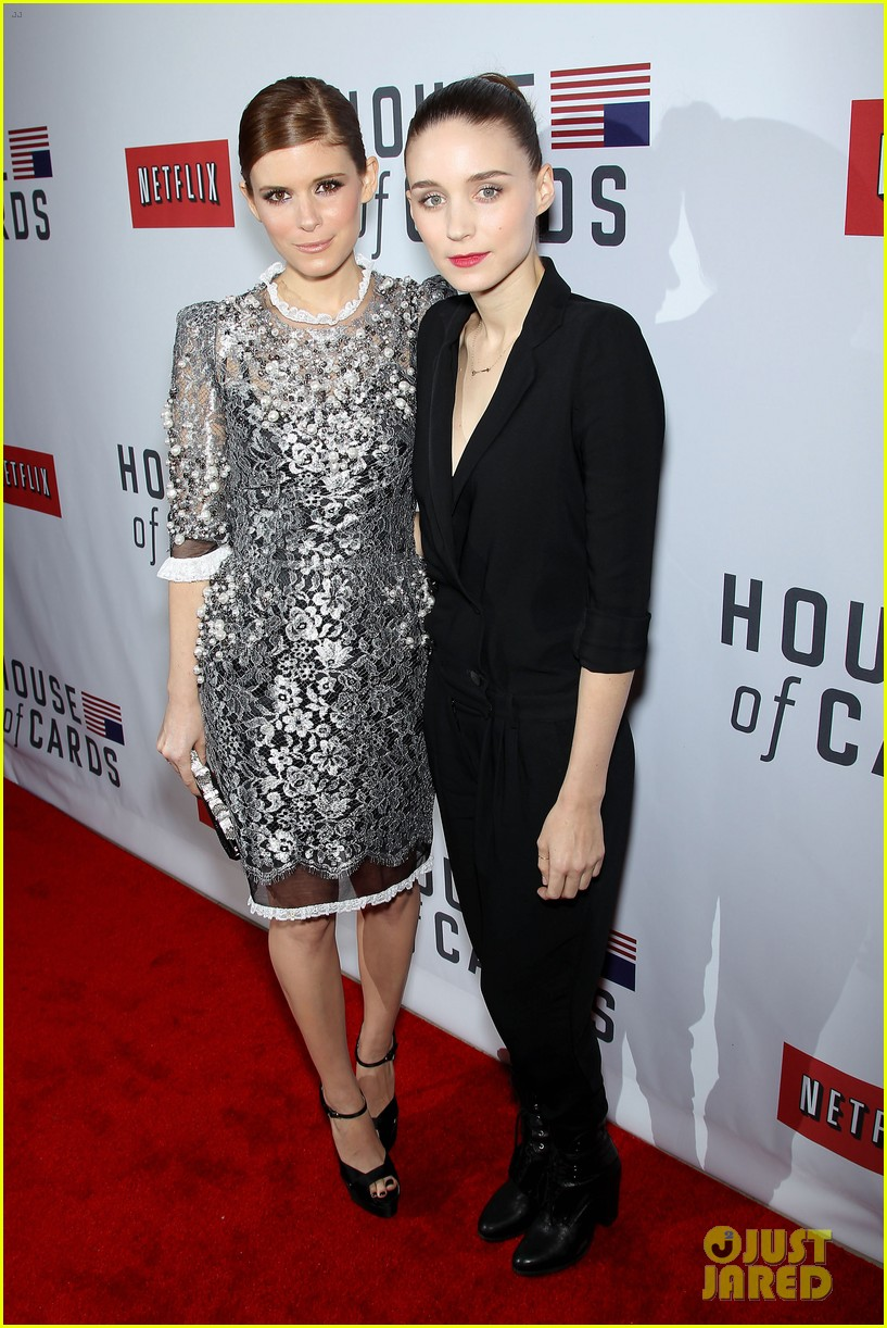 kate rooney mara house of cards new york premiere 01