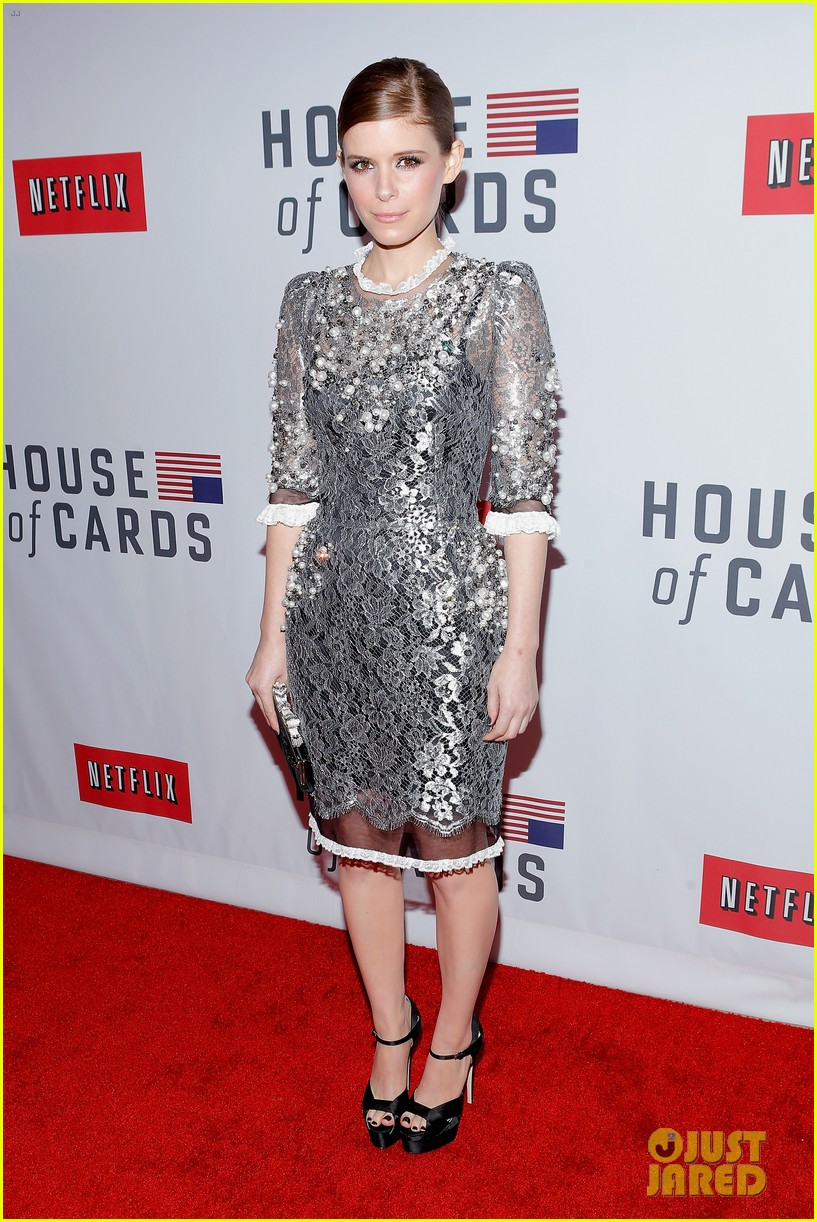 kate rooney mara house of cards new york premiere 03