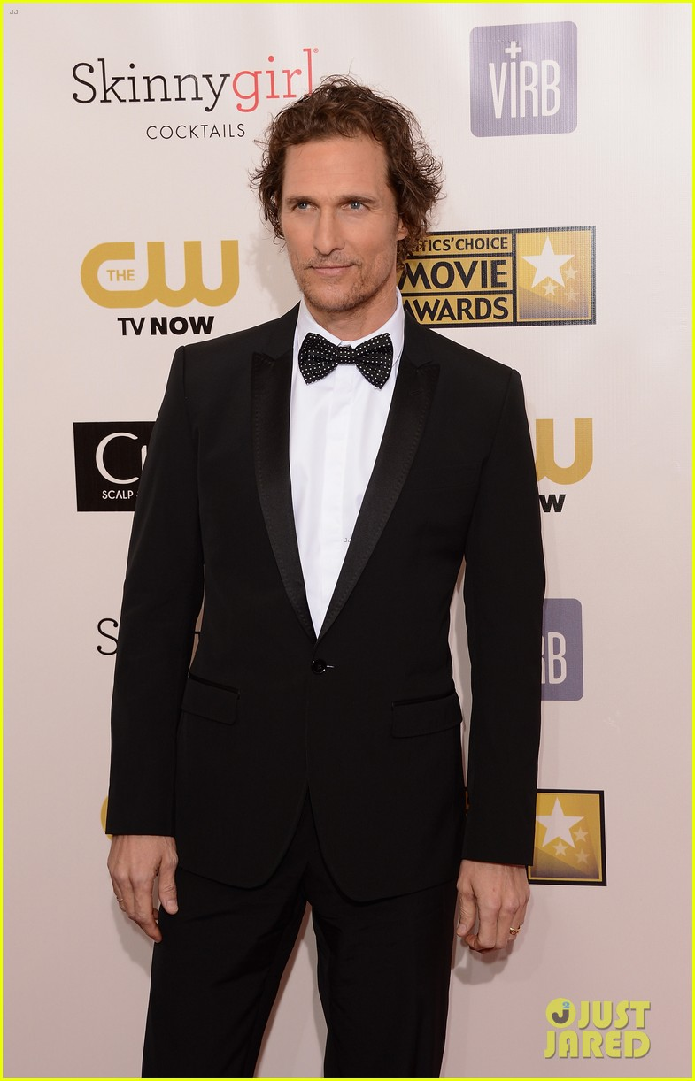 matthew mcconaughey critics choice awards 012788722