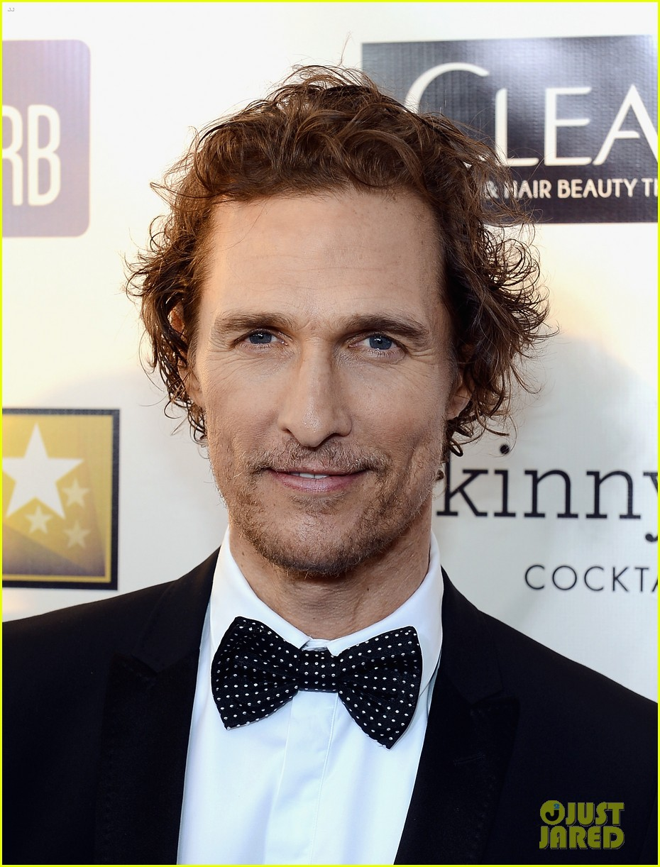matthew mcconaughey critics choice awards 04