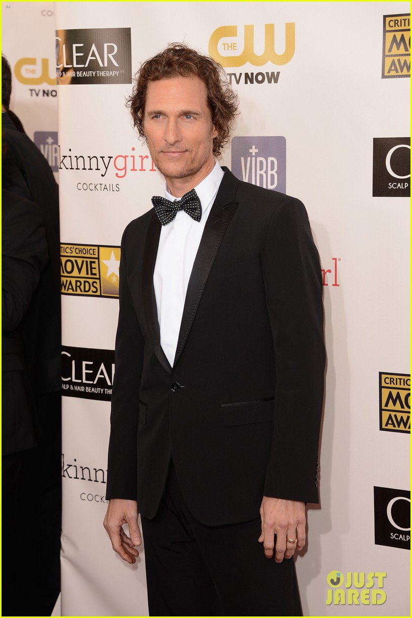 matthew mcconaughey critics choice awards 05