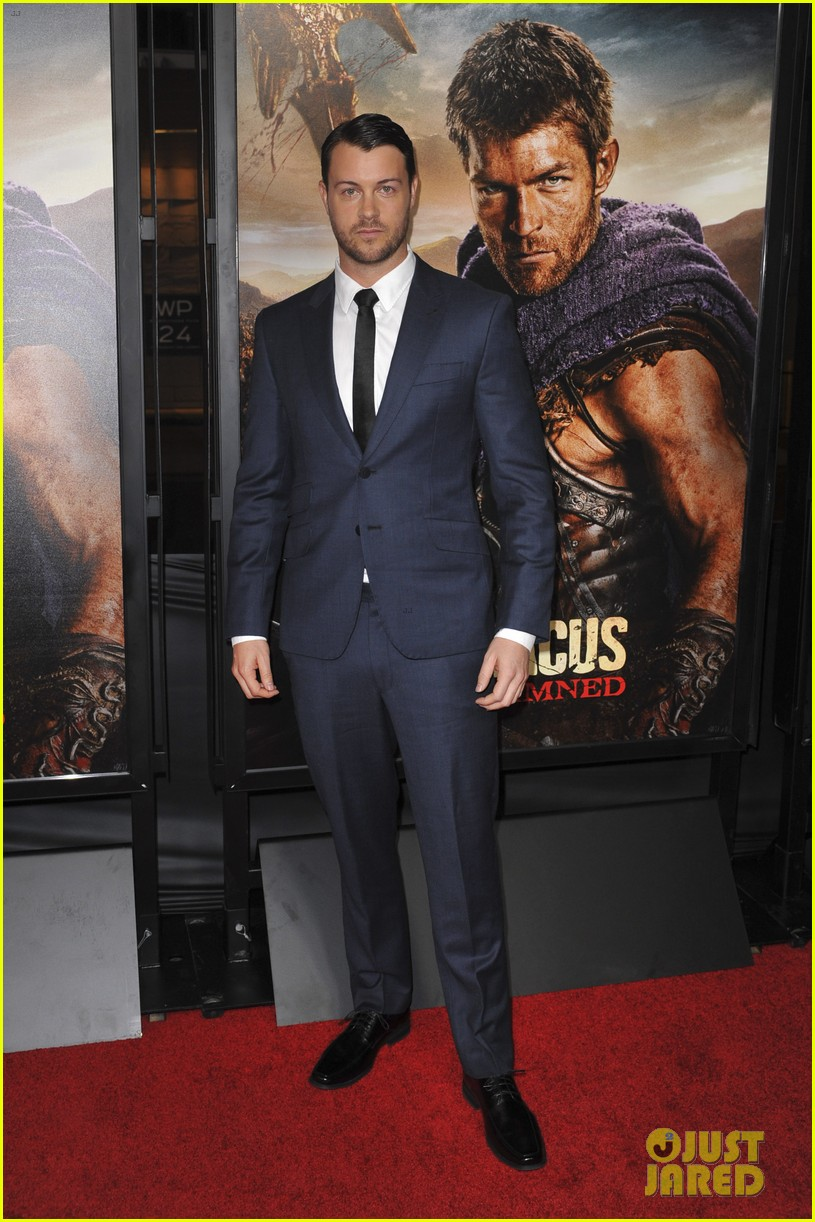 liam mcintyre spartacus war of the damned premiere 17