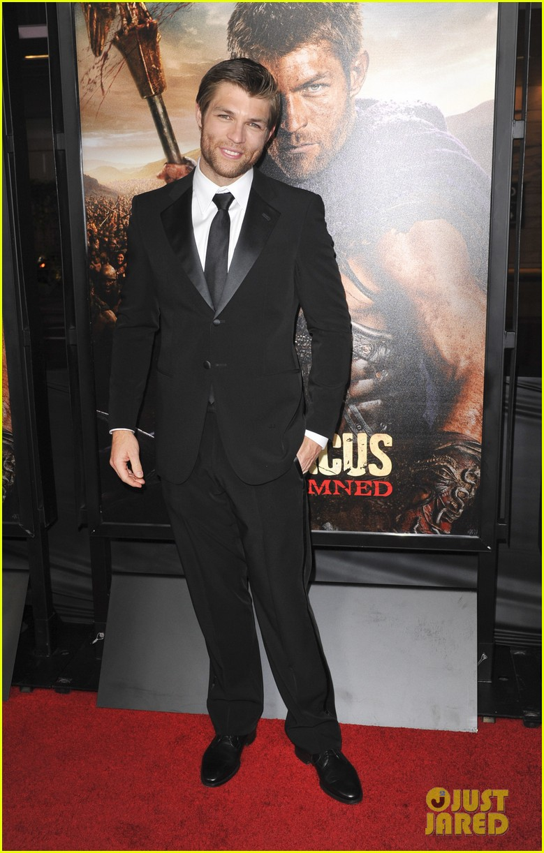 liam mcintyre spartacus war of the damned premiere 22
