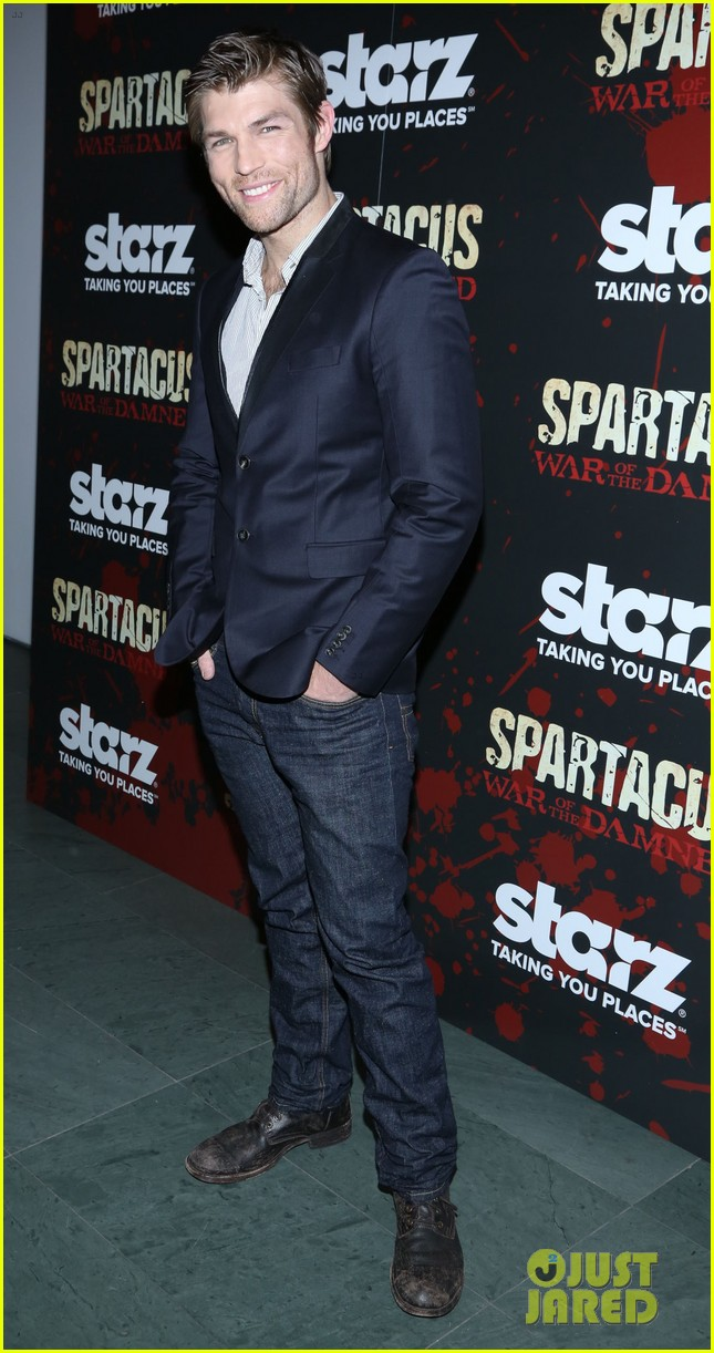liam mcintyre spartacus war of the damned ny premiere 01