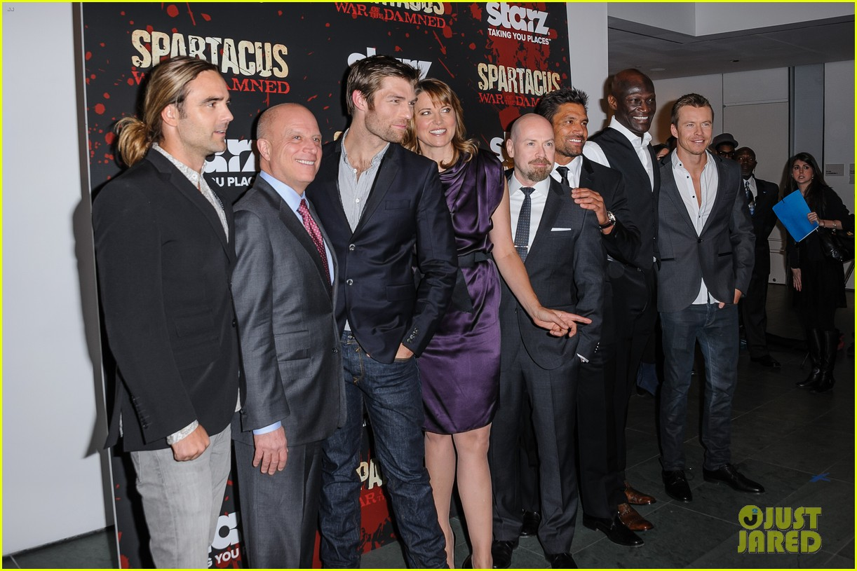 liam mcintyre spartacus war of the damned ny premiere 05