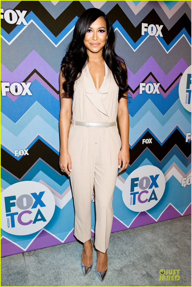 lea michele tca fox all star party with glee cast 03