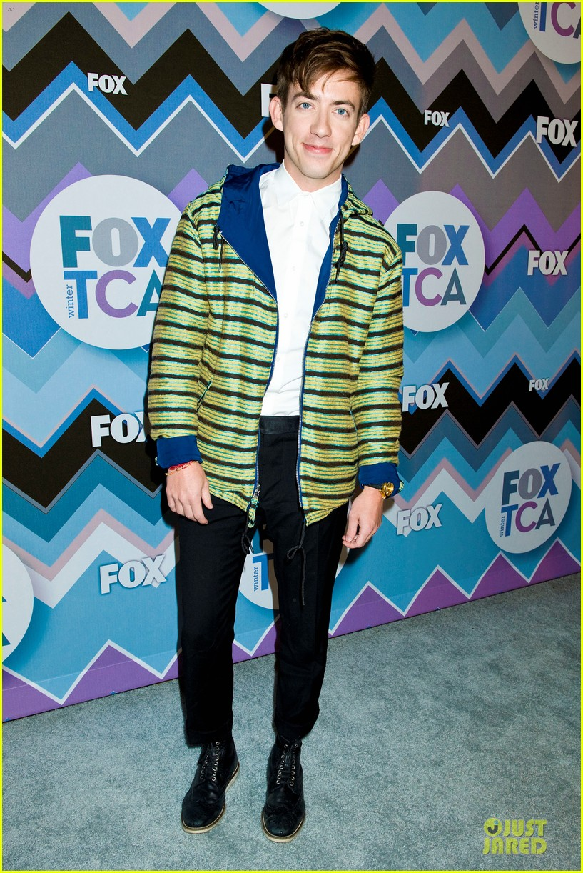 lea michele tca fox all star party with glee cast 04