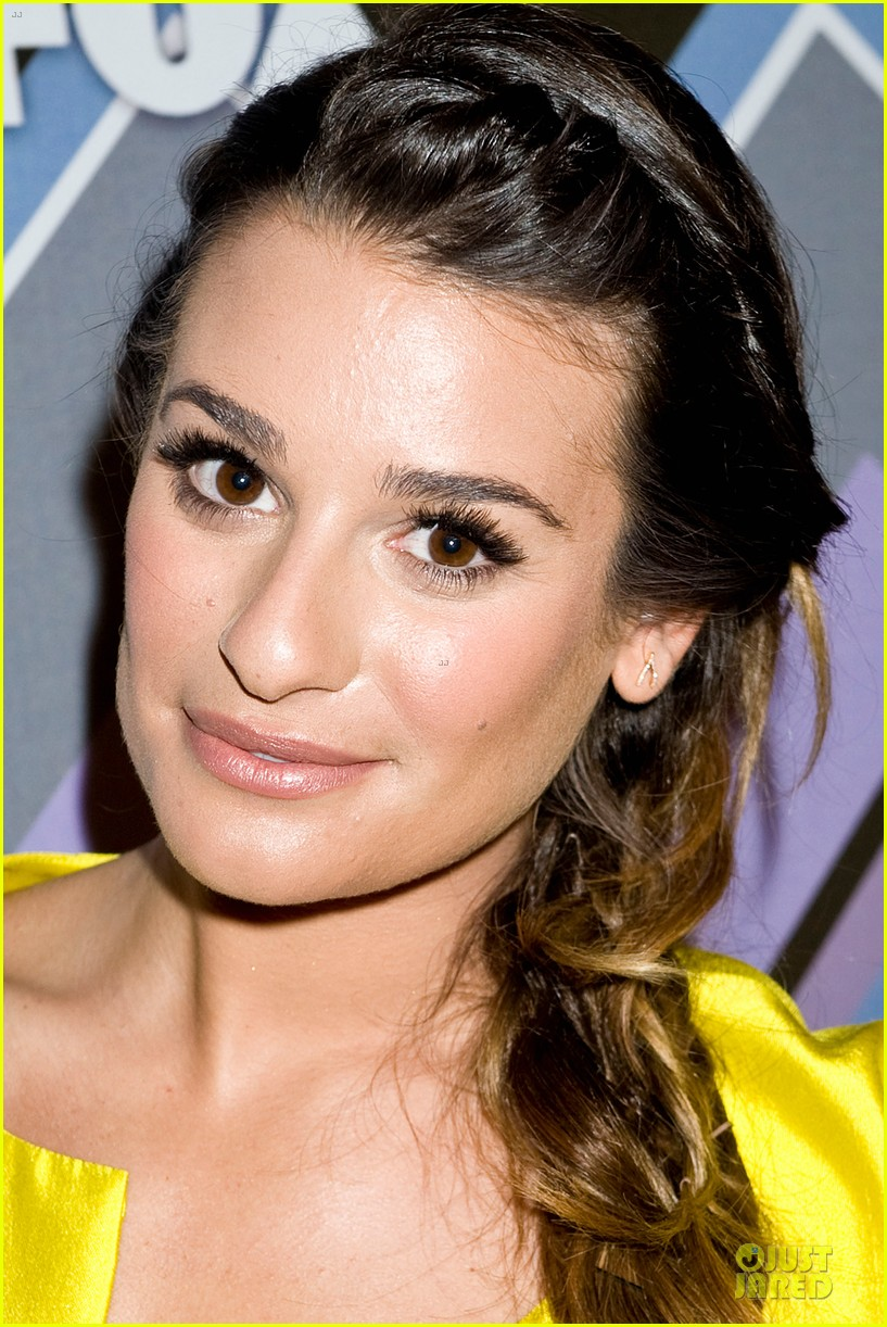 lea michele tca fox all star party with glee cast 07