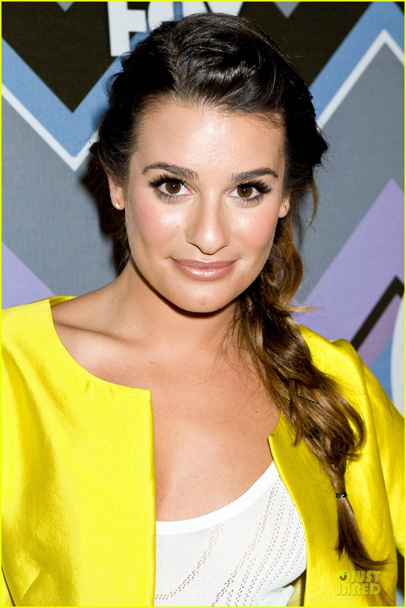 lea michele tca fox all star party with glee cast 15