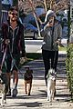 miley cyrus hoodie walk with pet pooch 03