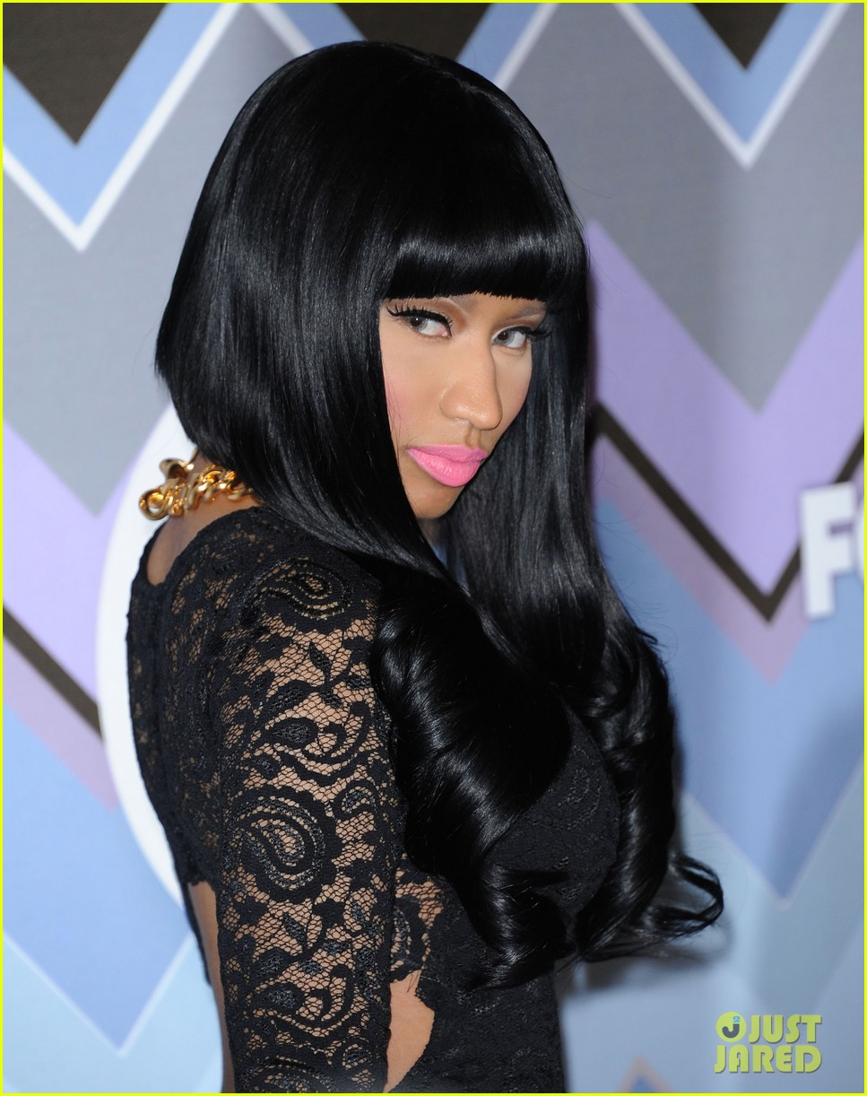 nicki minaj fox tca all star party 08