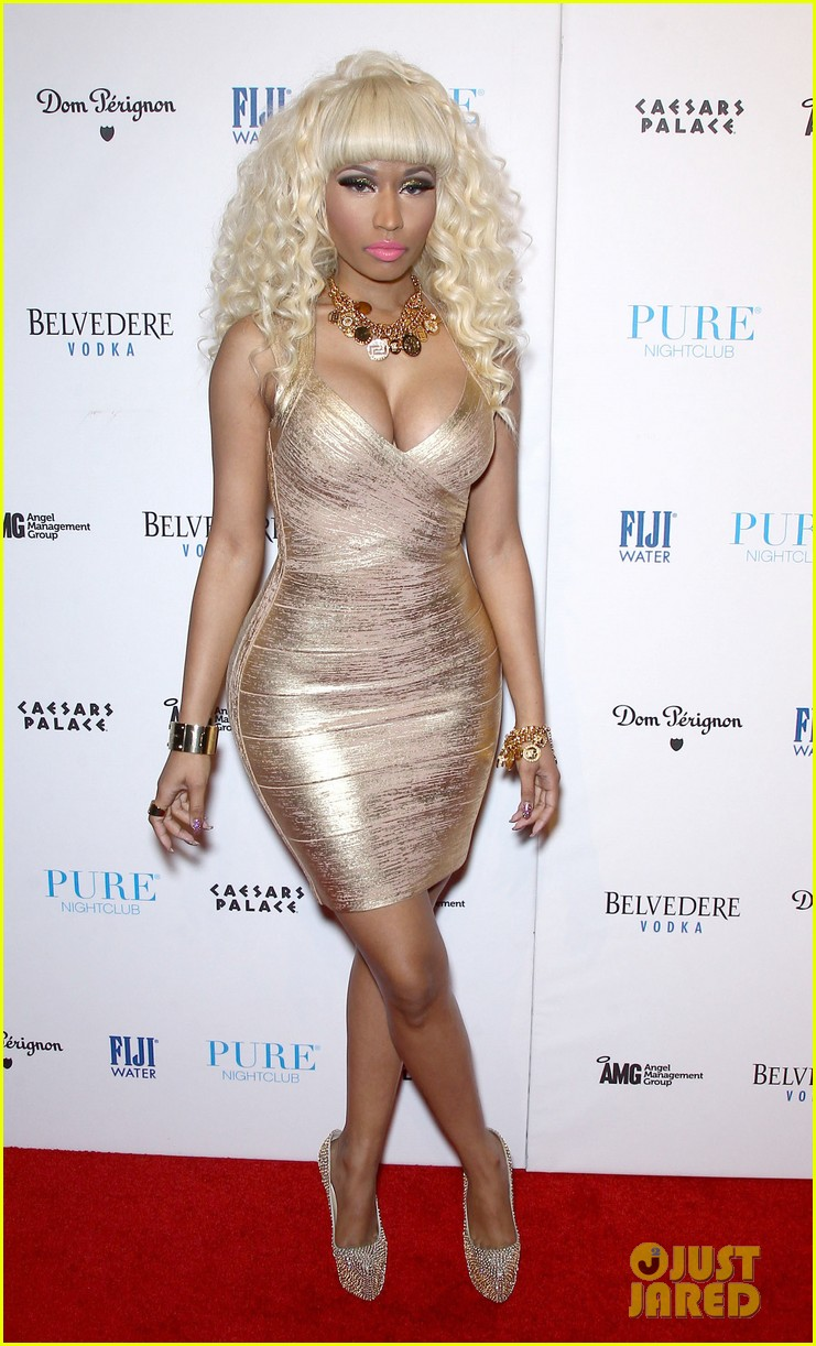 nicki minaj new years eve affair in las vegas 01