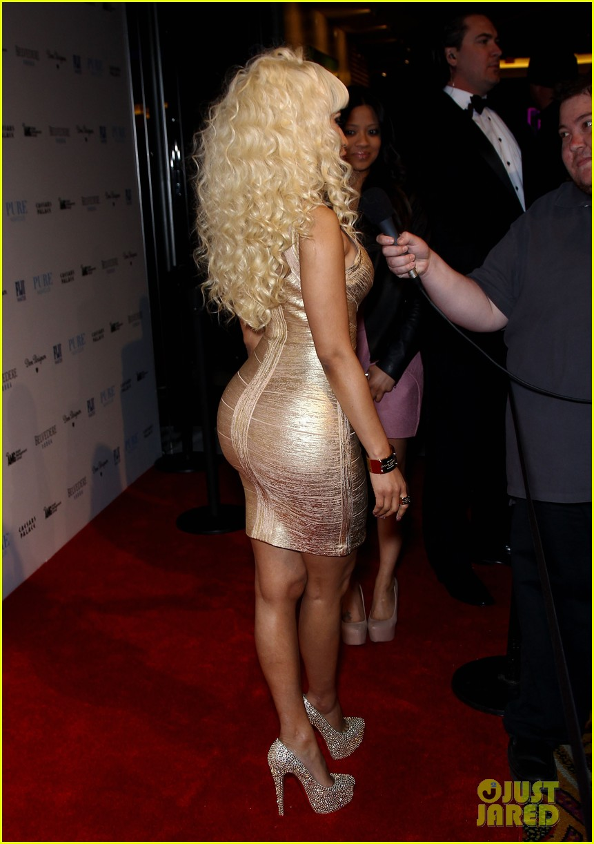 nicki minaj new years eve affair in las vegas 15