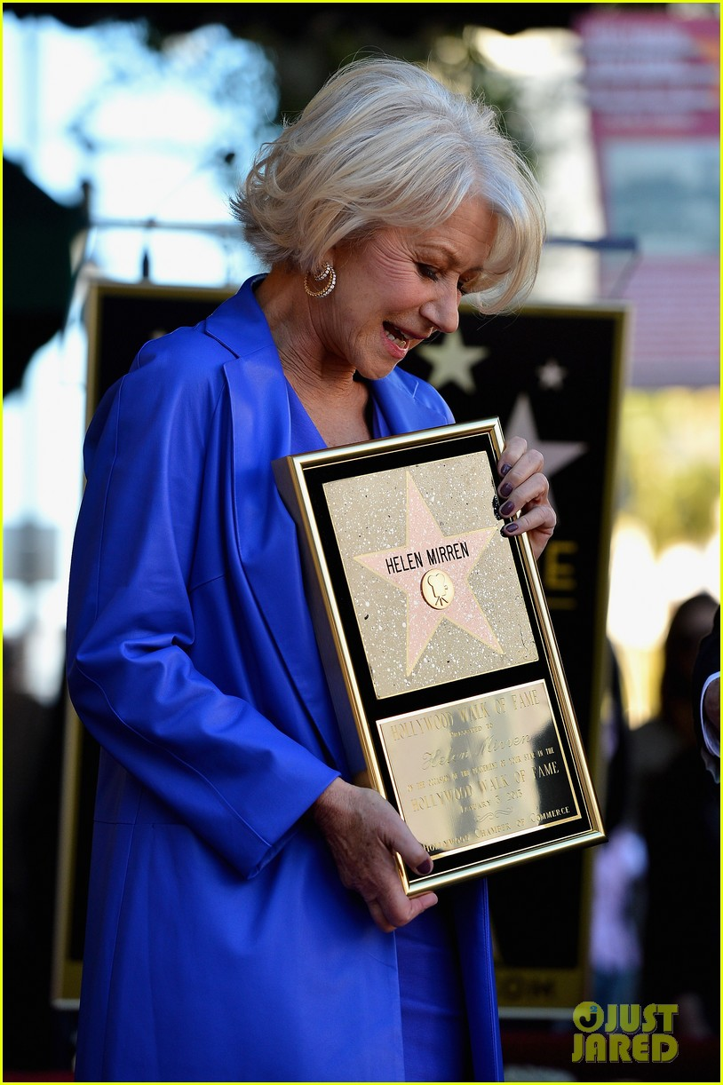 helen mirren receives star on hollywood walk of fame 172784359