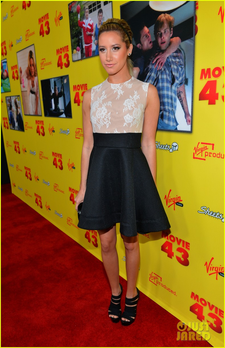 chloe moretz ashley tisdale movie 43 premiere 12