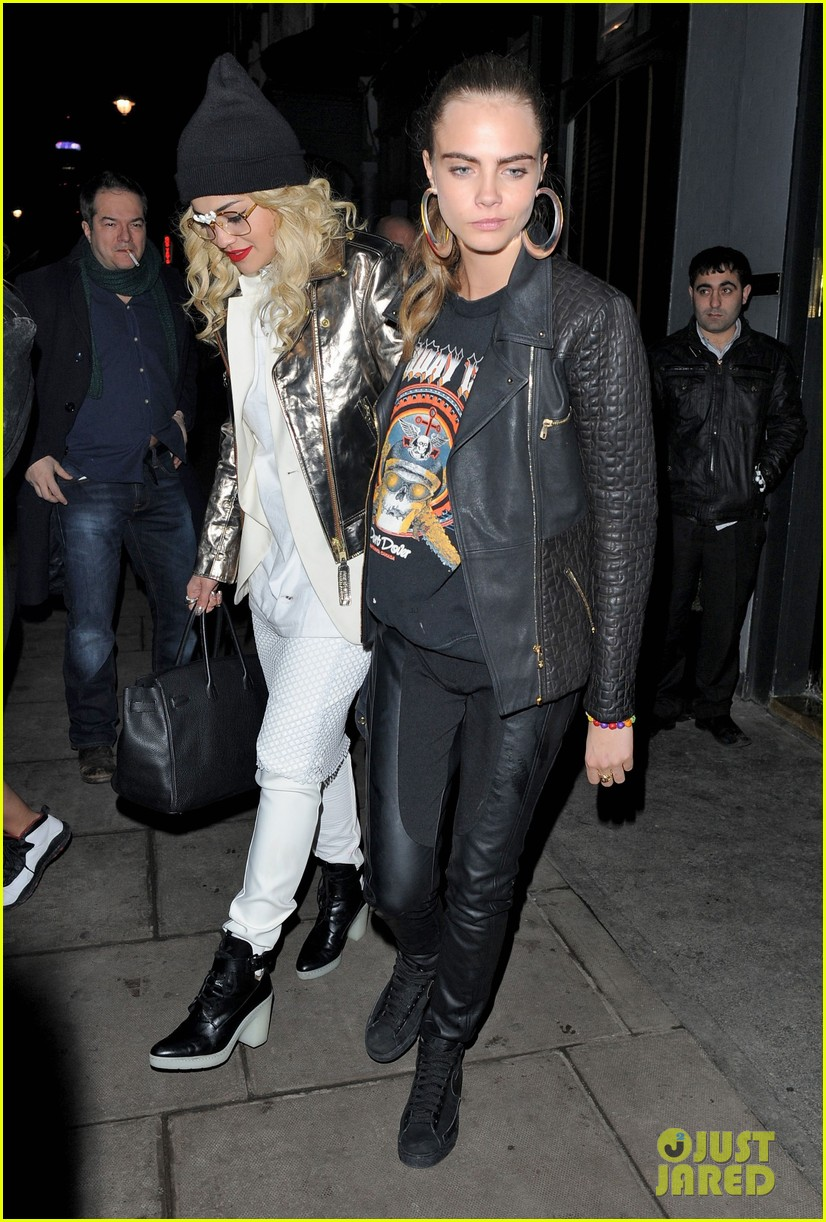 rita ora cara delevingne girls night out 07