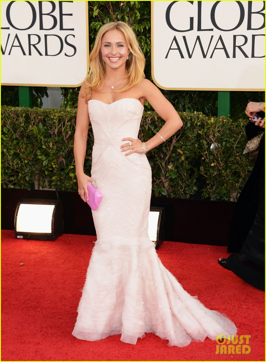 hayden panettiere golden globes 2013 red carpet 04