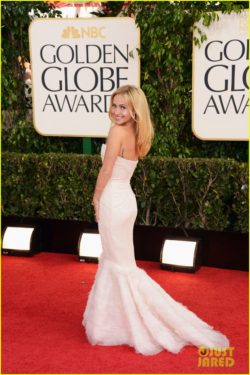 hayden panettiere golden globes 2013 red carpet 05