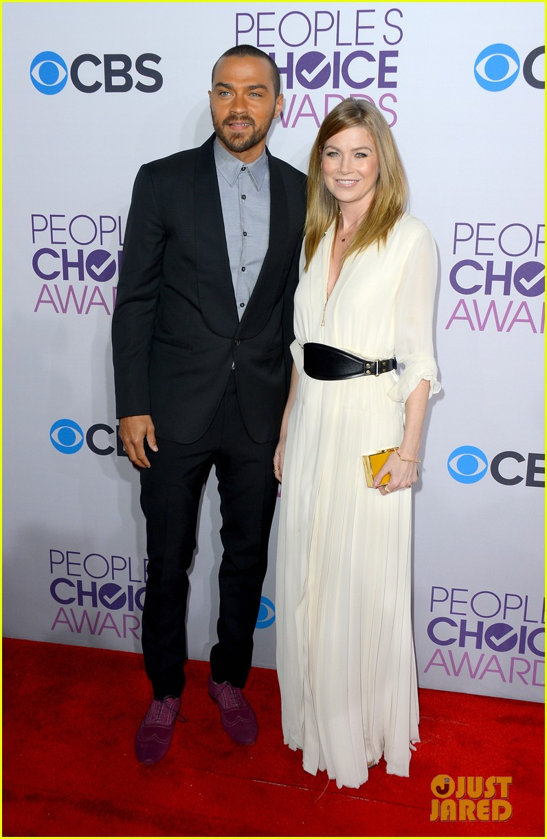 ellen pompeo jesse williams peoples choice awards 2013 032787871
