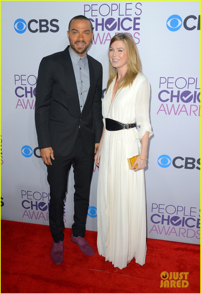 ellen pompeo jesse williams peoples choice awards 2013 10