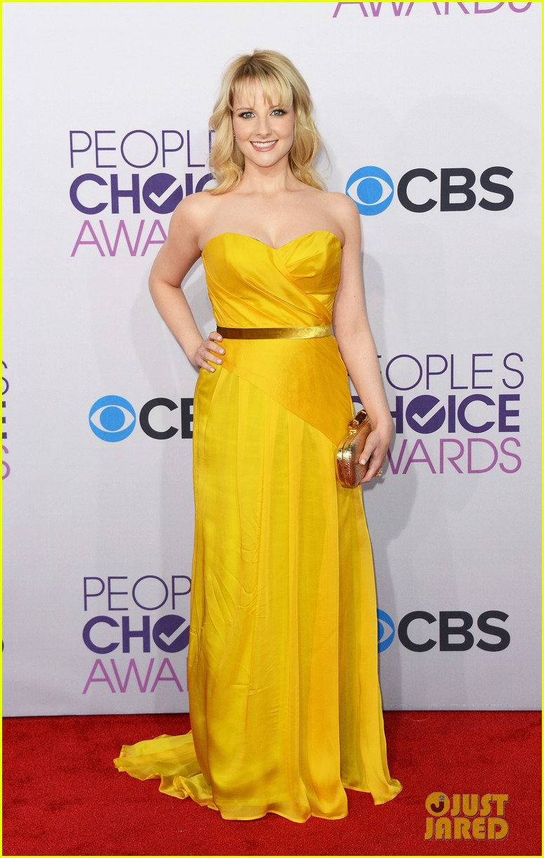 melissa rauch casey wilson peoples choice awards 2013 01
