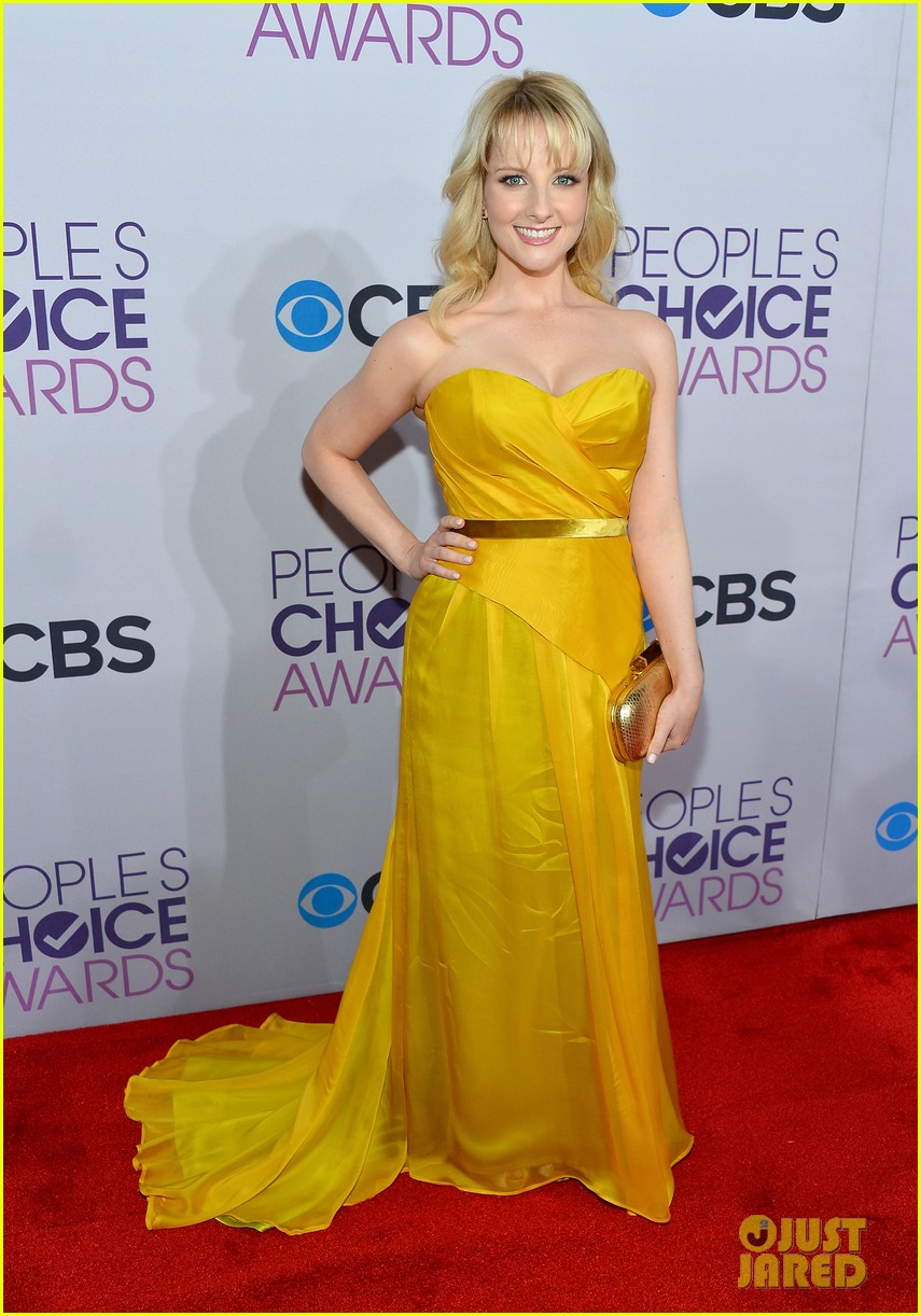melissa rauch casey wilson peoples choice awards 2013 06