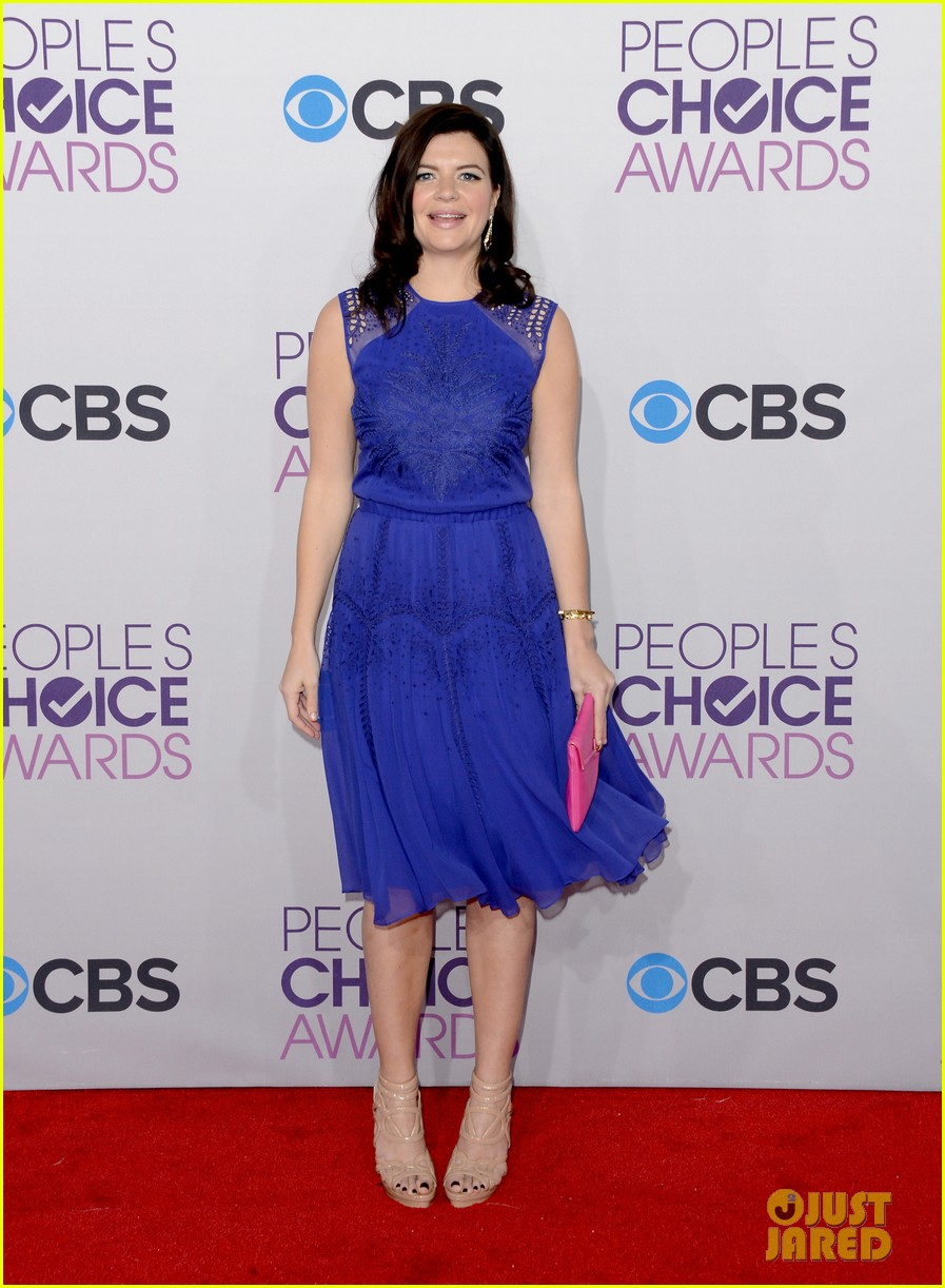 melissa rauch casey wilson peoples choice awards 2013 07