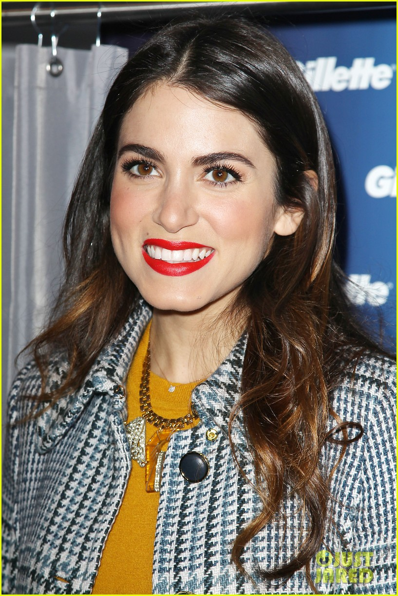 nikki reed kiss tell event for gillette 10