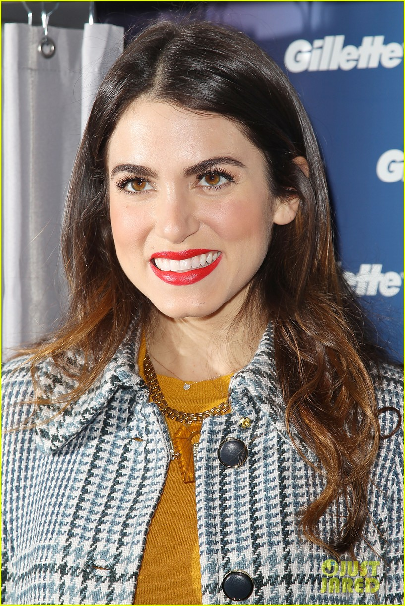 nikki reed kiss tell event for gillette 13