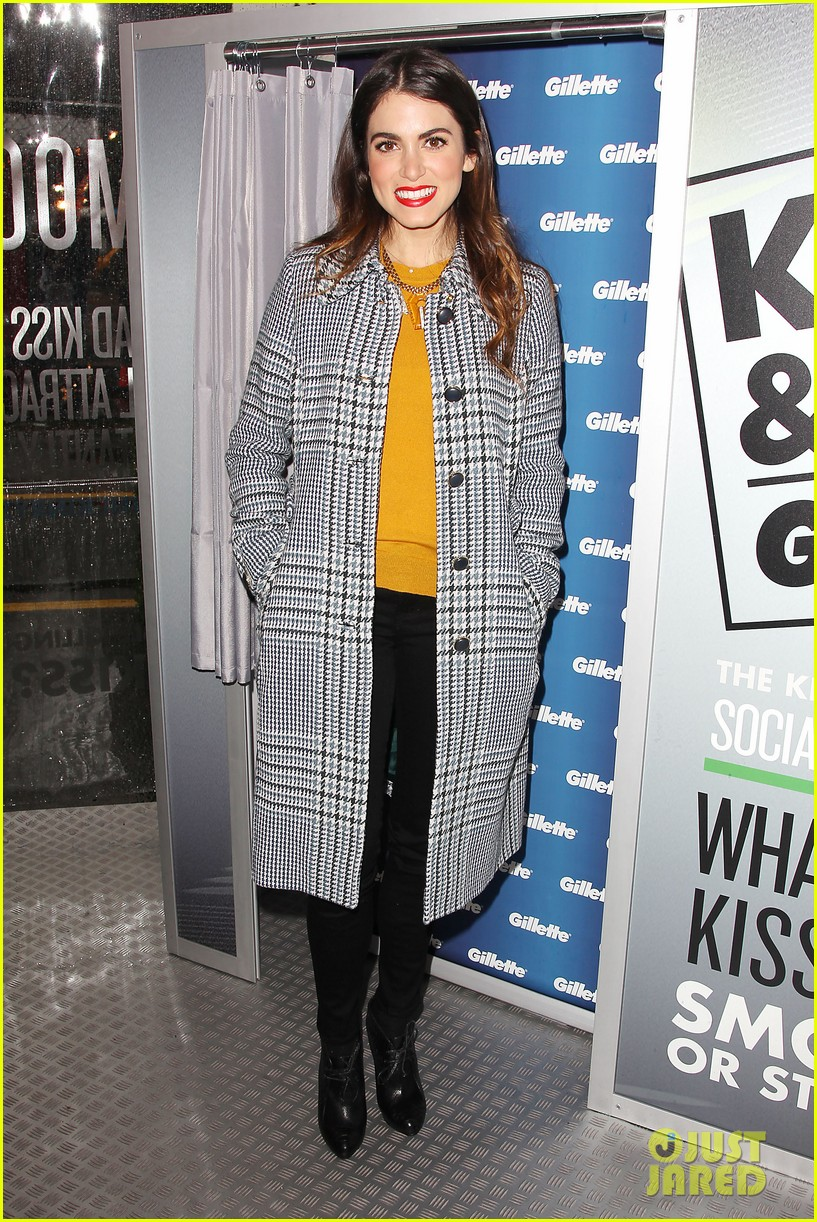 nikki reed kiss tell event for gillette 14