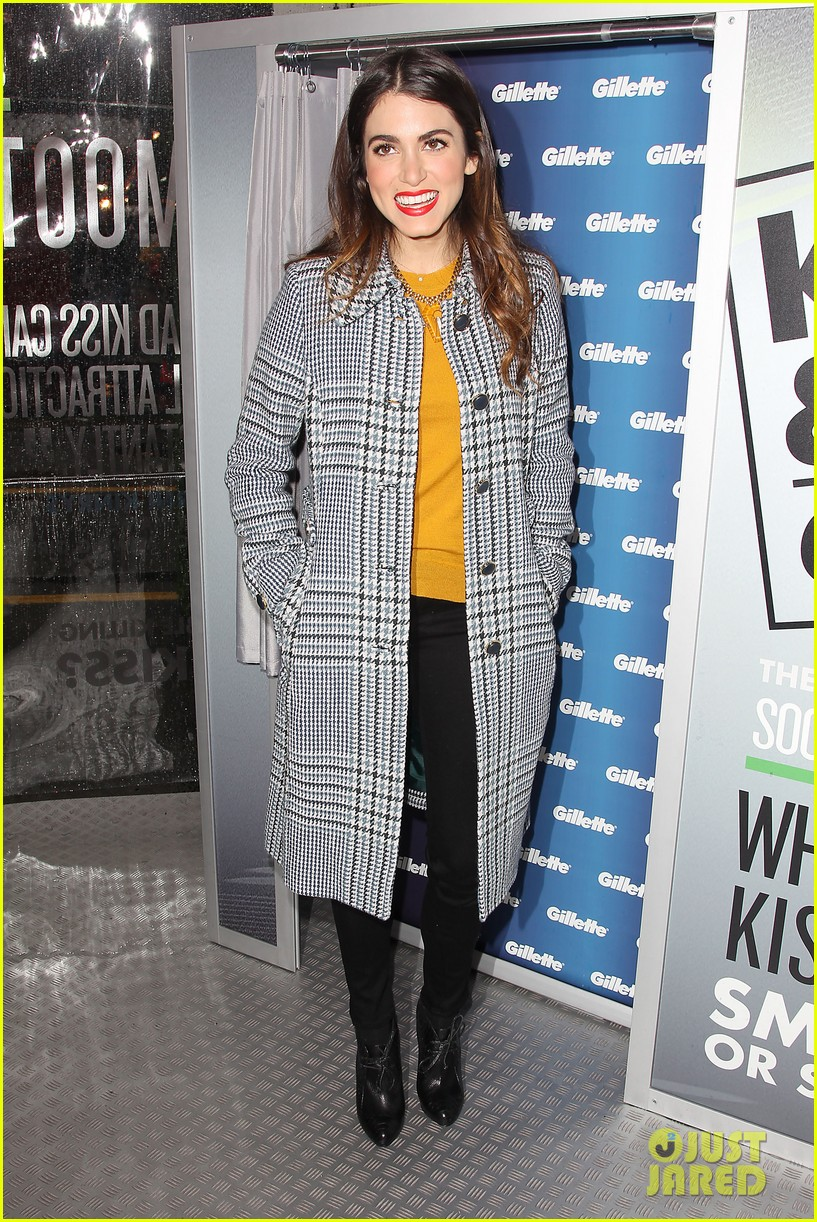 nikki reed kiss tell event for gillette 15