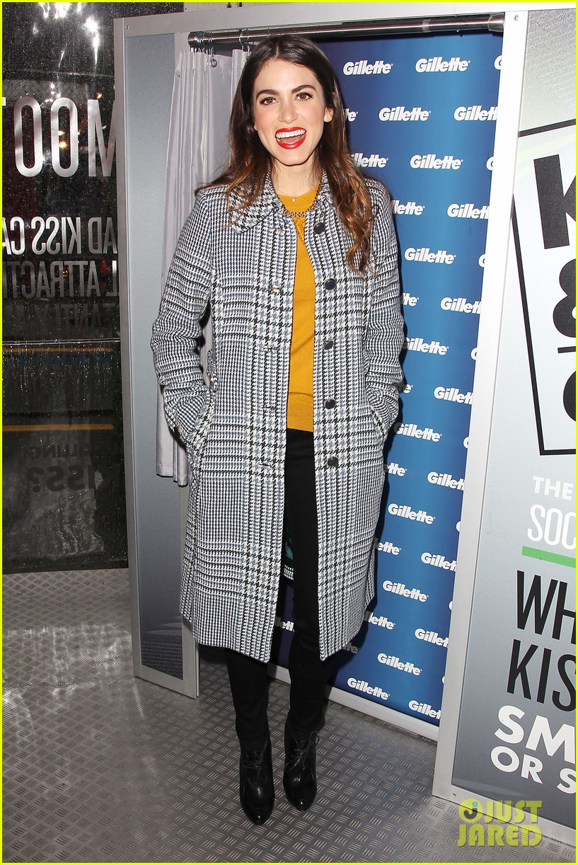 nikki reed kiss tell event for gillette 16