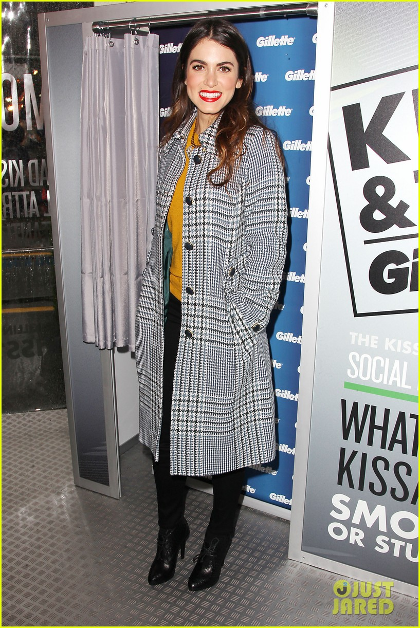 nikki reed kiss tell event for gillette 22