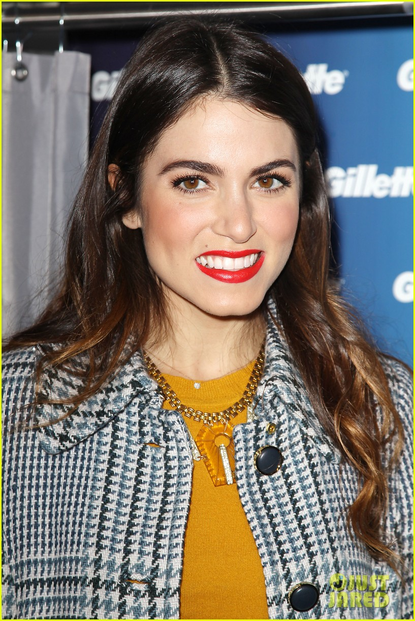 nikki reed kiss tell event for gillette 23
