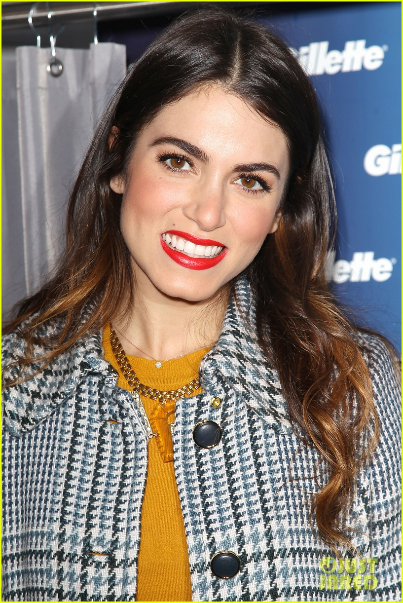 nikki reed kiss tell event for gillette 24