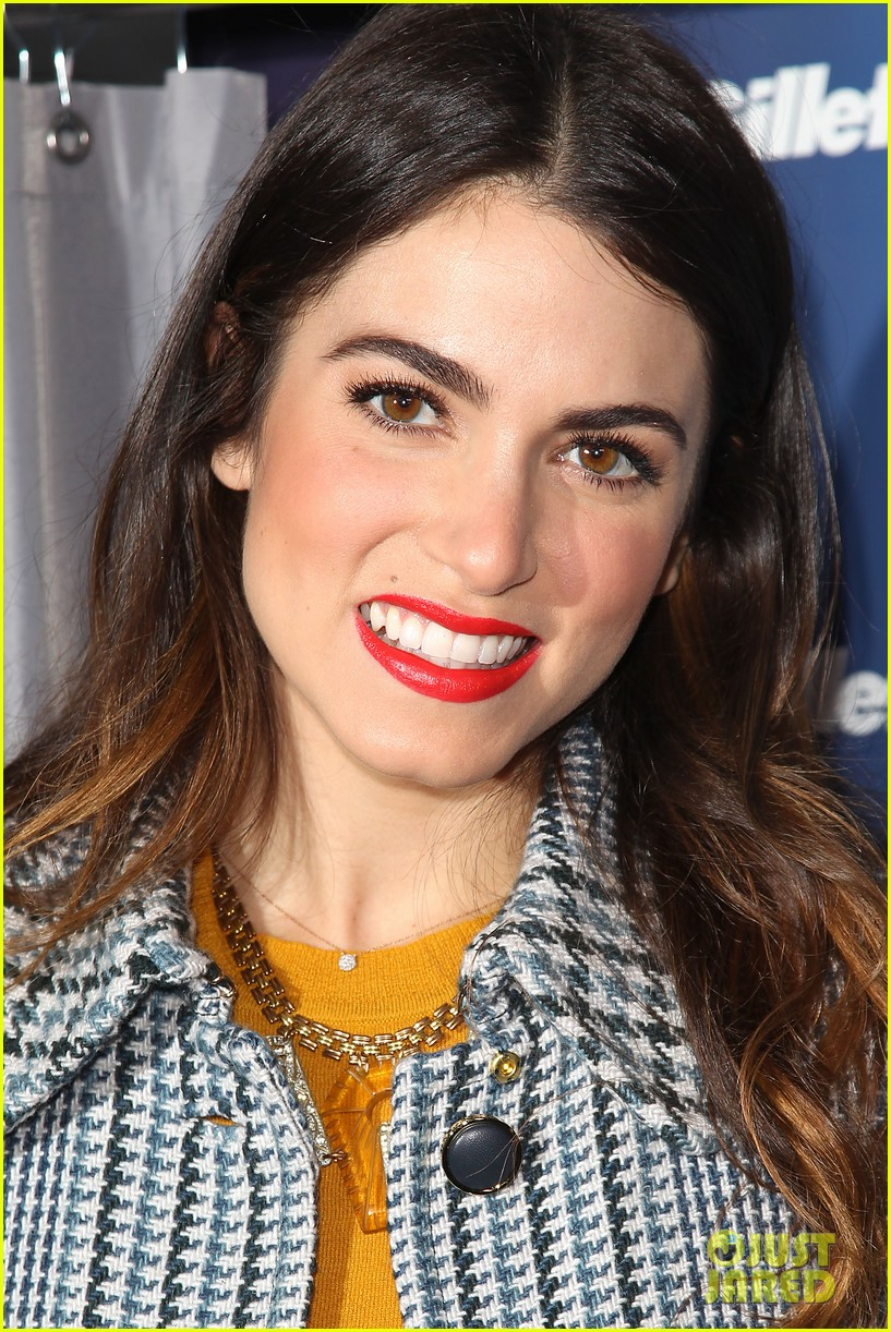 nikki reed kiss tell event for gillette 25