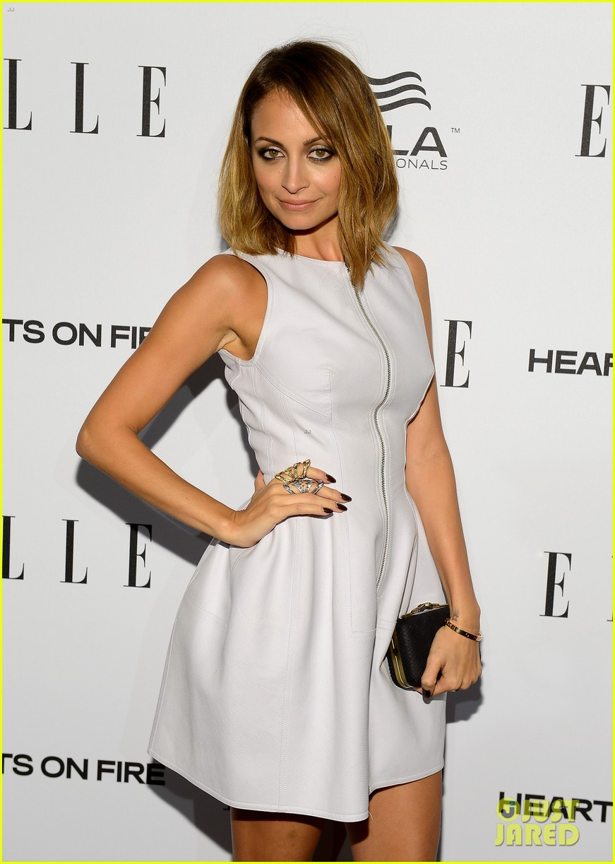 nicole richie morena baccarin elles women in tv party 11