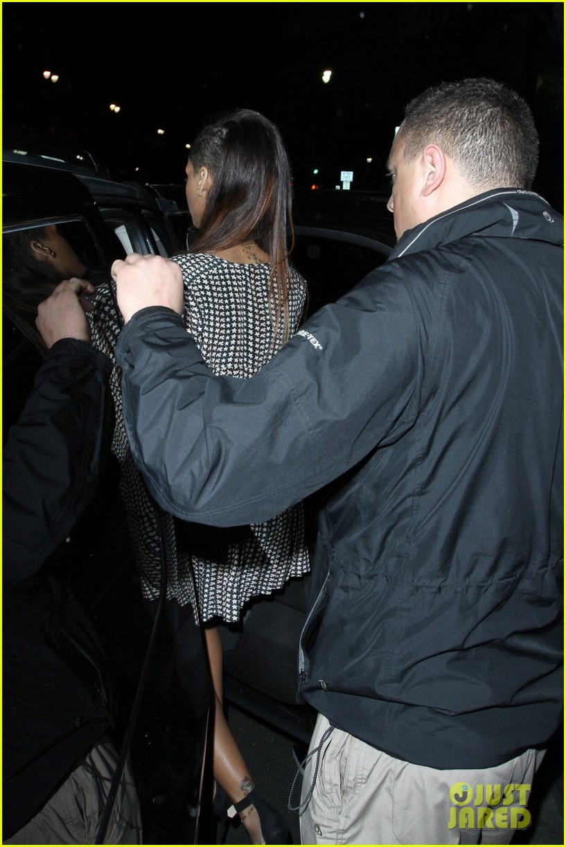 rihanna my studio night out 02