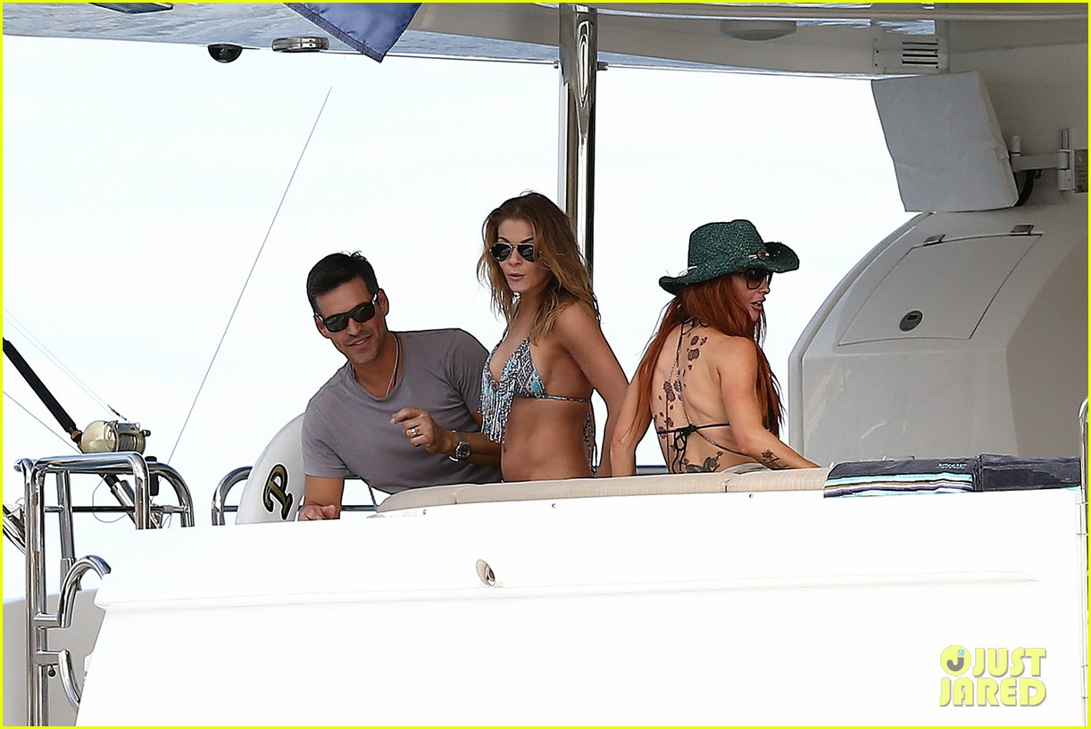 leann rimes eddie cibrian new years eve swimming in cabo 142783744