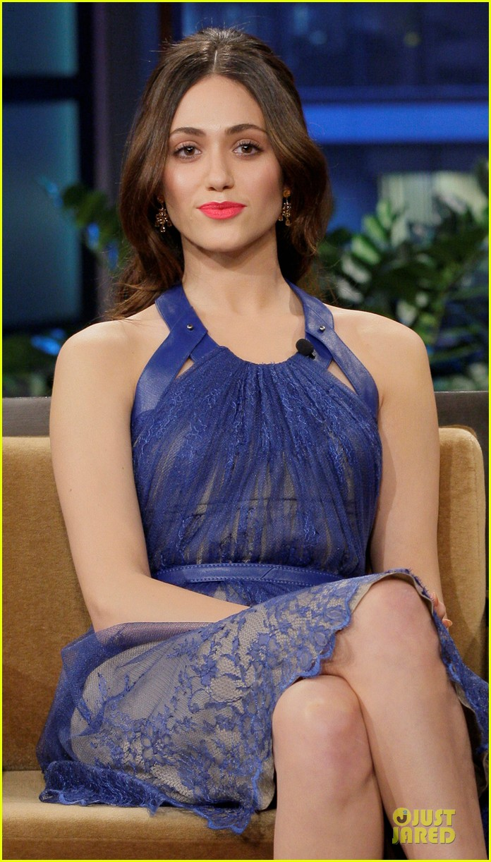 emmy rossum tonight show with jay leno appearance 02