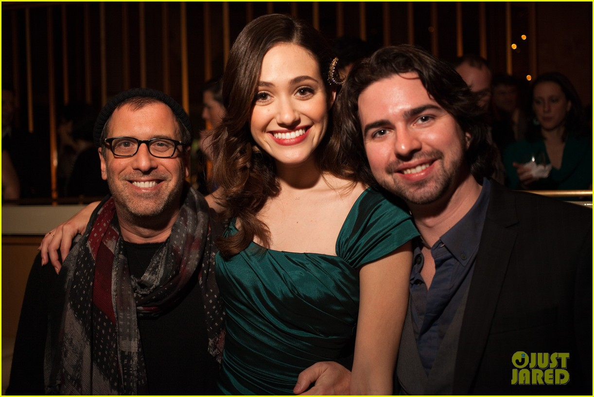 emmy rossum manhattan magazine cover party performance 10