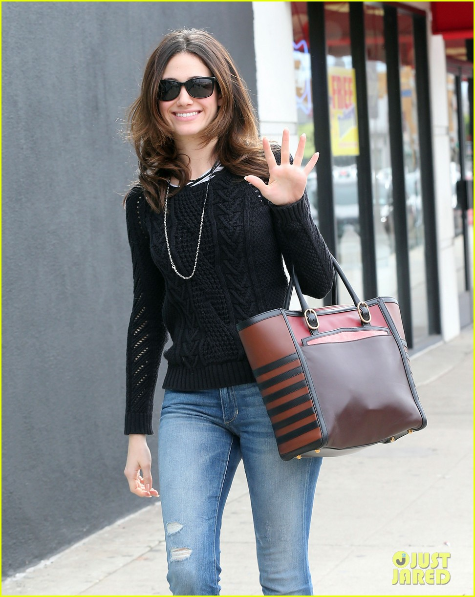 emmy rossum sentimental journey in stores next week 02