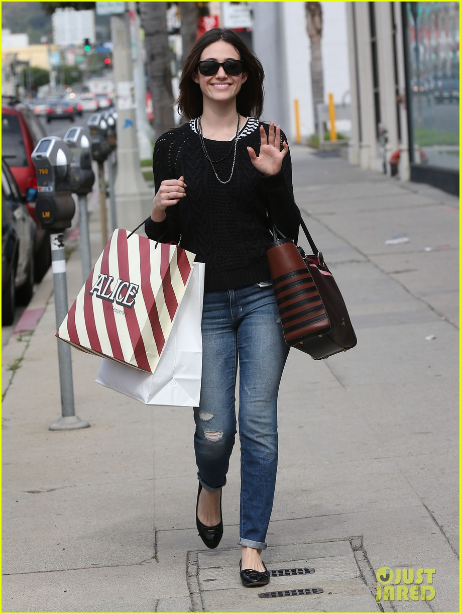 emmy rossum sentimental journey in stores next week 09