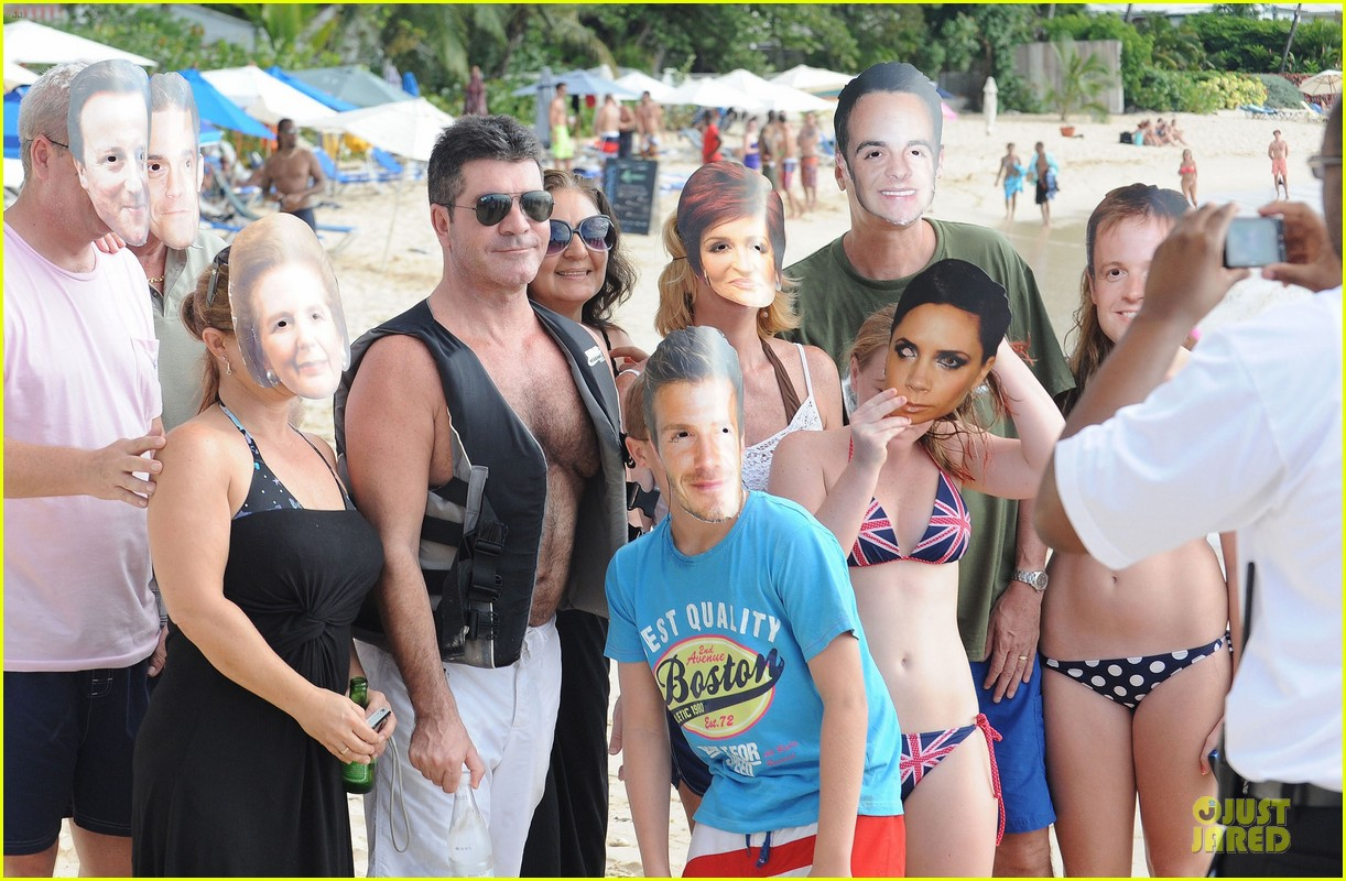 simon cowell shirtless new years eve with mezhgan huissany 28