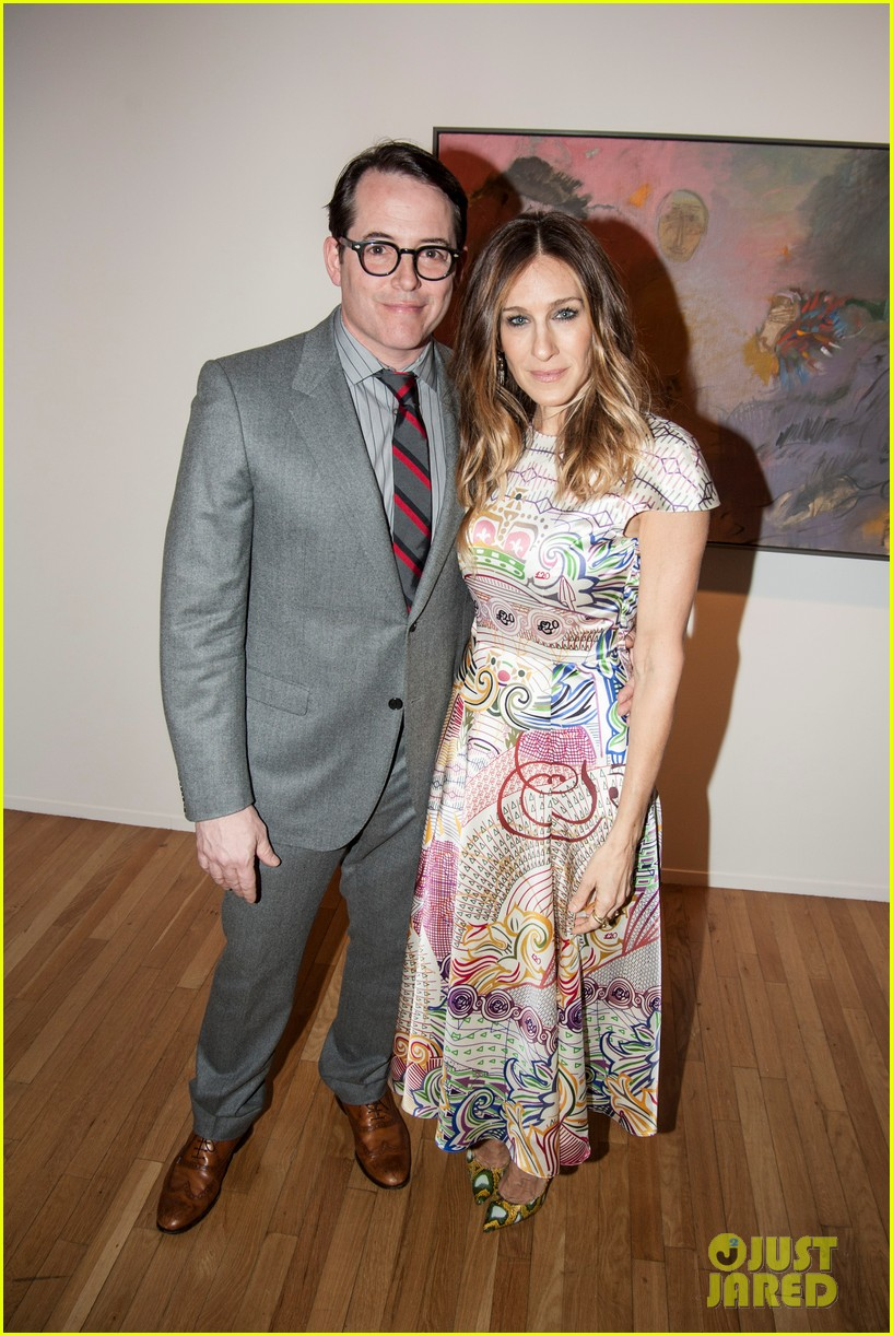 sarah jessica parker celebrates patricia brodericks paintings 03
